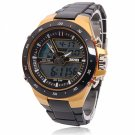 Men Sports Watches Waterproof Fashion Casual Quartz Watch Yellow