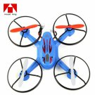 Mould King X6-33023 2.4GHz 4 Channel 6 Axis LCD 3D Remote Control Quadcopter Blue