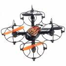 UDI U830 2.4G 4CH 6 Axis Gyro 360-Degree Rotating Hand Sensor RC Quadcopter RTF Black&Orange