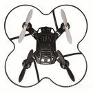 H1 Mini 2.4GHz 4 Channel 6 Axis Gyro RC Quadcopter RTF Black
