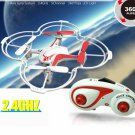 2.4G 5CH 6-Axis Gyro CF Headless Mode One Press Automatic Return Voice Controlled Quadcopter(Mode2)