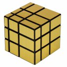 SHS 3x3x3 Cool Square Mirror Magic Cube Puzzle Toy Golden