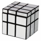 SHS 3x3x3 Cool Square Mirror Magic Cube Puzzle Toy Silver