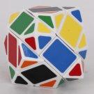 Stylish Polygonal Shape Plastic Magic Intelligence Test Cube White