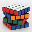 QJ8004-HP 4x4x4 7cm Magic Intelligence Test Rubik's Revenge with Paster Black