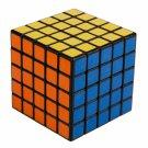 SHS 5x5x5 Professor's Cube Rubik's Magic Cube Puzzle Toy Black