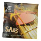 Spock SA13 Professional Copper Guitar Strings Set Golden