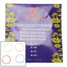 Spock SU01 Professional Ukulele Strings Set Colourful