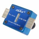 1pc Ferro-aluminium Key Slot Measuring Instrument for KLOM Blue