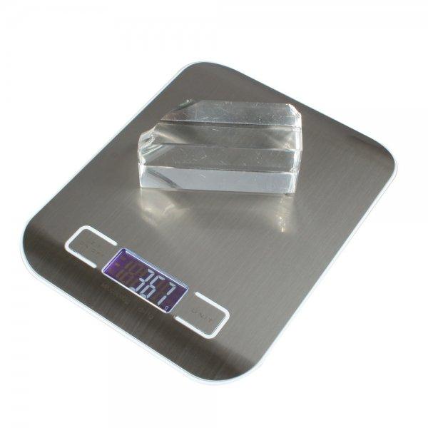 """5kg x 1g 1.7"""""""" Digital Weight Kitchen Food Diet Scale H318 White"""