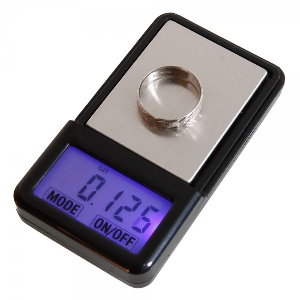 "100g x 0.01g 1.4"""" MP4 Style Digital Pocket Jewelry Scale 1 x CR2032 Random Color"