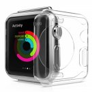38mm Drop-proof Shockproof TPU Gel Slim Protective Case Cover for Apple Watch Transparent