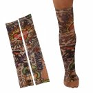 2pcs Temporary Arm Stockings Fake Tattoo Sleeves T7