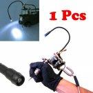 NEW Adjustable Tattoo LED Lamp for Machine Supply Mounted Gun Kit Set Light Red