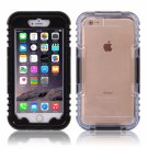 IP 68 Deep Waterproof Dust Shockproof Full Protect Case Cover for iPhone 6 Plus/6S Plus Black