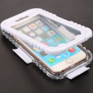 IP 68 Deep Waterproof Dust Shockproof Full Protect Case Cover for iPhone 6/6S White