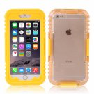 IP 68 Deep Waterproof Dust Shockproof Full Protect Case Cover for iPhone 6 Plus/6S Plus Yellow