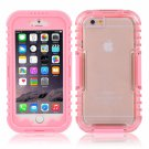 IP 68 Deep Waterproof Dust Shockproof Full Protect Case Cover for iPhone 6/6S Pink