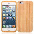 Environmental-friendly Wooden Protective Case for iPhone 6/6S Light Bamboo Pattern