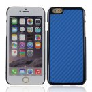 "Protective Plastic Back Case Cover for iPhone 6 4.7"""" Blue"