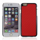 "Protective Plastic Back Case Cover for iPhone 6 4.7"""" Red"