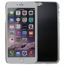 """Wire Drawing Titanium Alloy Back Protective Case for 5.5"""""""" iPhone 6 Plus/6S Plus Black"""