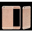 "Bling Glitter Body Protector Sticker Set for 4.7"""" iPhone 6 Pink"
