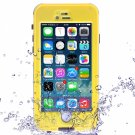"Waterproof Shockproof Dirt-proof Button Style Protective Case for 4.7"""" iPhone 6/6S Yellow"