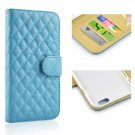 "Lined Plaid Pattern Flip PU Leather Protective Case with Card Slots for 5.5"""" iPhone 6 Plus/6S Plus"