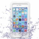 "Waterproof Shockproof PC TPE Protective Case for 5.5"""" iPhone 6 Plus/6S Plus White"