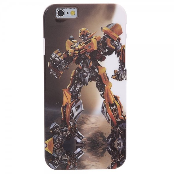 Transformer Pattern PC Protective Case for iPhone 6/6S
