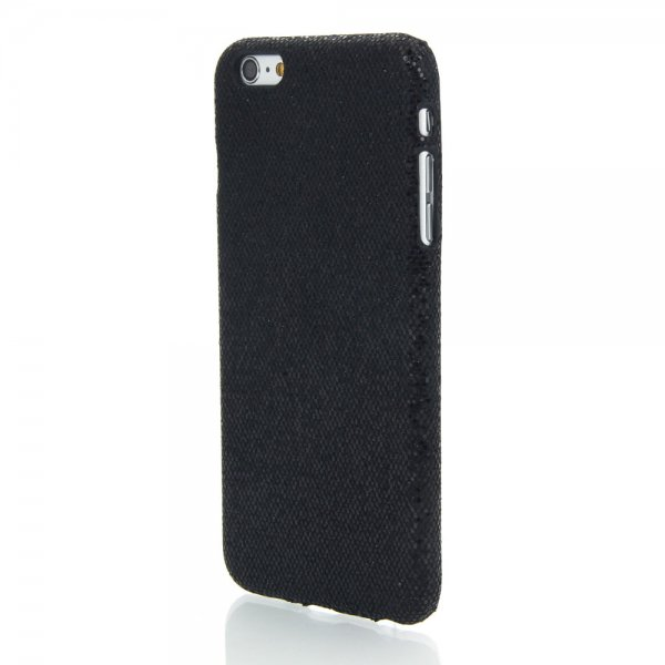 PC Glitter Hard Protective Case for iPhone 6 Plus/6S Plus Black