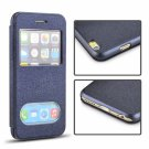 """Angibabe Ultrathin Oracle Flip PU Leather Case with Double Viewing Windows for 4.7"""""""" iPhone 6/6S"""
