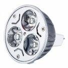 MR16 6W 5600-6300K Low-power White Light LED Spot Light Bulb (12V)