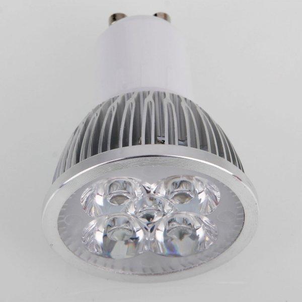 GU10 4W 4LED 320-360LM 5500-6500K White Dimmable LED Spotlight Light (110V)