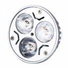 MR16 3W 240LM 2600-2800K Warm White Light LED Spotlight Bulb with Die Crafting (12V)