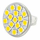 MR11 4.5W 15LEDs 5060SMD 250-280LM 2800-3200K Warm White Light LED Spot Bulb (9-36V)