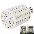 E27 18W 102 LED SMD5050 6000K White Light Corn Lamp (220V)