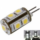 G4 2W 9 LED 150-200 Lumen 6000K White Light LED Corn Lamp Bulb (12V)