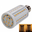 E27 10W 60 LED 900-1000 Lumen 3000K Warm White LED Corn Light Bulb (220V)