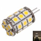 G4 4W 27LED 400LM 3000K Warm White Light Corn Lamp Bulb (DC 12V)