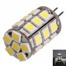G4 4W 27LED 400LM 6000K White Light Corn Lamp Bulb (12V)