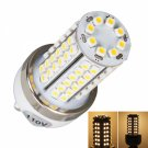 G9 5W 500LM 80LED 3000K SMD3528 Warm White Light Cylindrical Corn Light with Silver Side (110V)