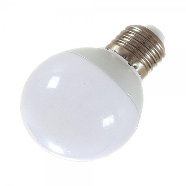 E27 5W 10-LED SMD5730 6000-6500K Cool White Light 360-Degree Lighting LED Bulb (AC 85-265V)