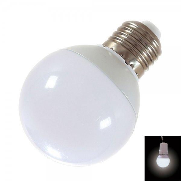 E27 9W 18-LED SMD5730 6000-6500K Cool White Light 360-Degree Lighting LED Bulb (AC 85-265V)