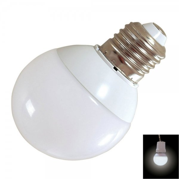E27 7W 14-LED SMD5730 6000-6500K Cool White Light 360-Degree Lighting LED Bulb (AC 85-265V)