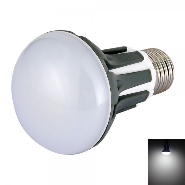 R63 E27 5W 18-LED SMD2835 420LM 6500K Cool White Light 180-Degree Beam Angle LED Bulb (AC 85-265V)
