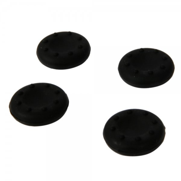4pcs Universal Key Caps for PS2/PS3/PS4/XBOX360/XBOXONE Controllers Black