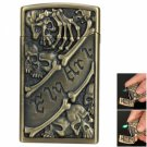 Personalized Skeleton Claw Style Butane Gas Refillable Cigarette Lighter Bronze