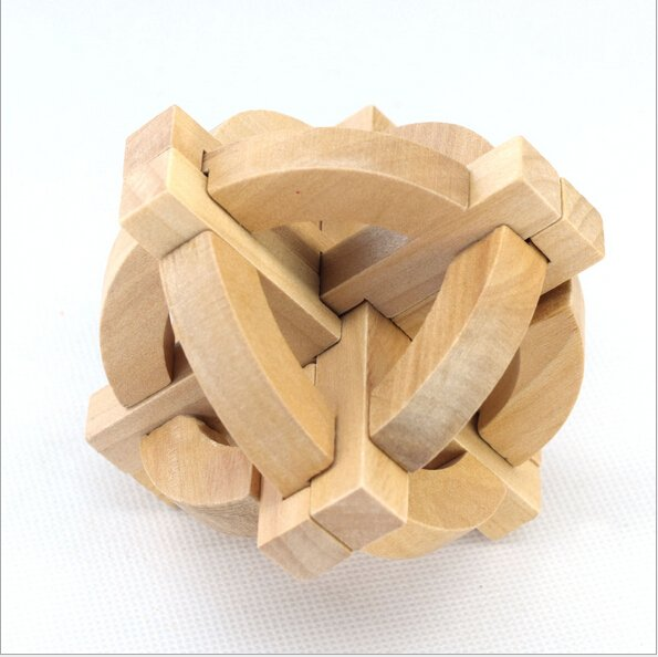 Globe Puzzle Toy - Professor Puzzle Great Minds Wooden Puzzle